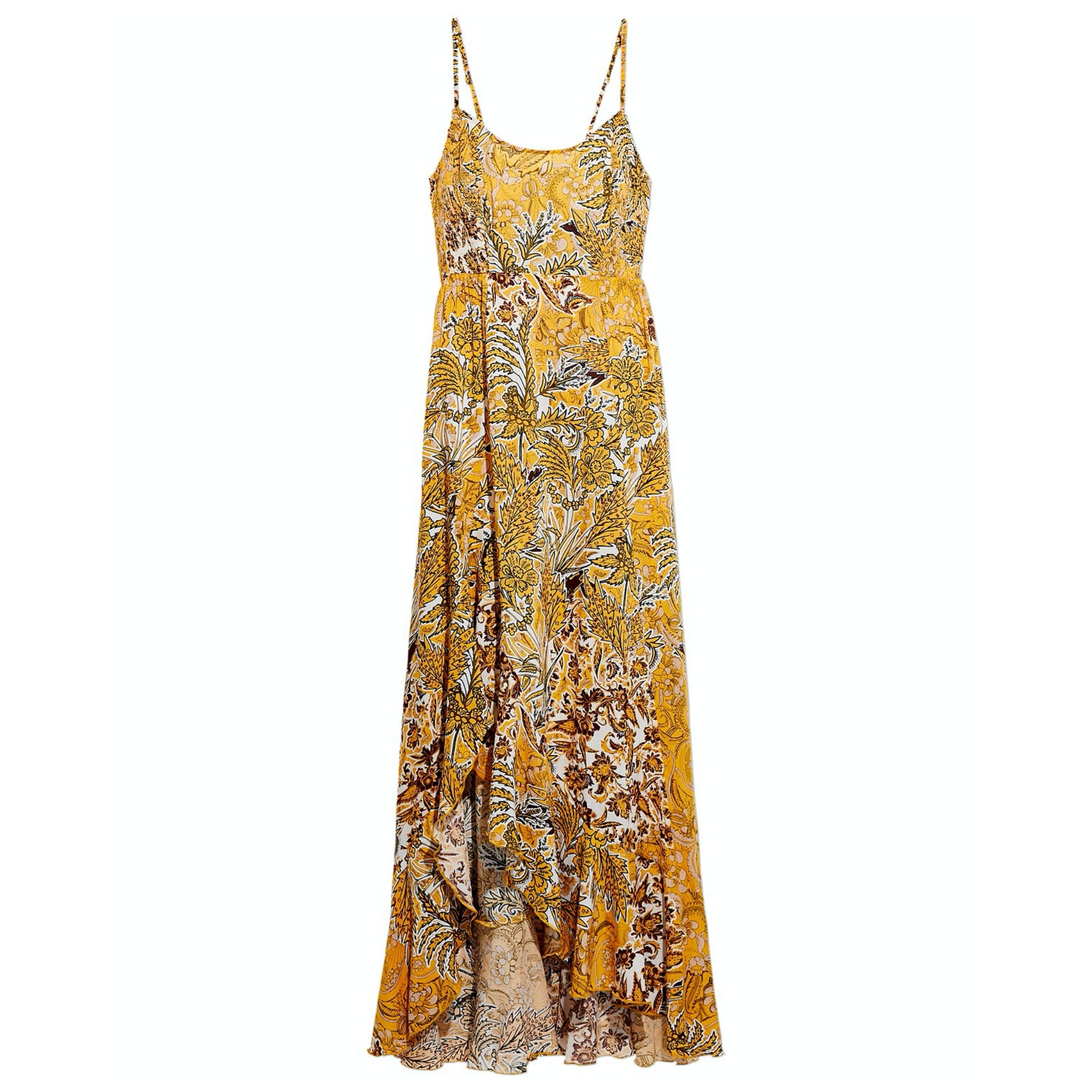 Free People Forever Yours Smocked Slip Maxi Dress - Macy's