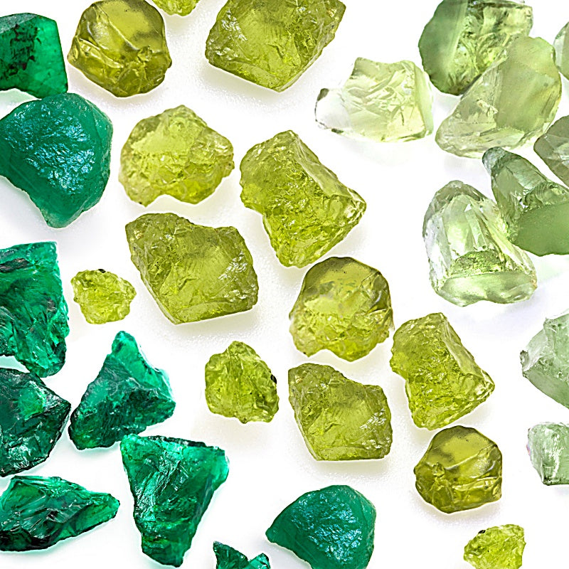 Green Natural Gemstones