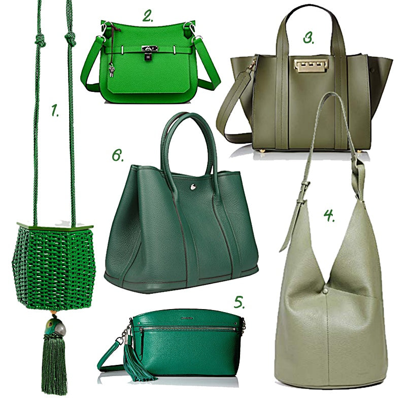 The Color Lab Blog - Green Handbags