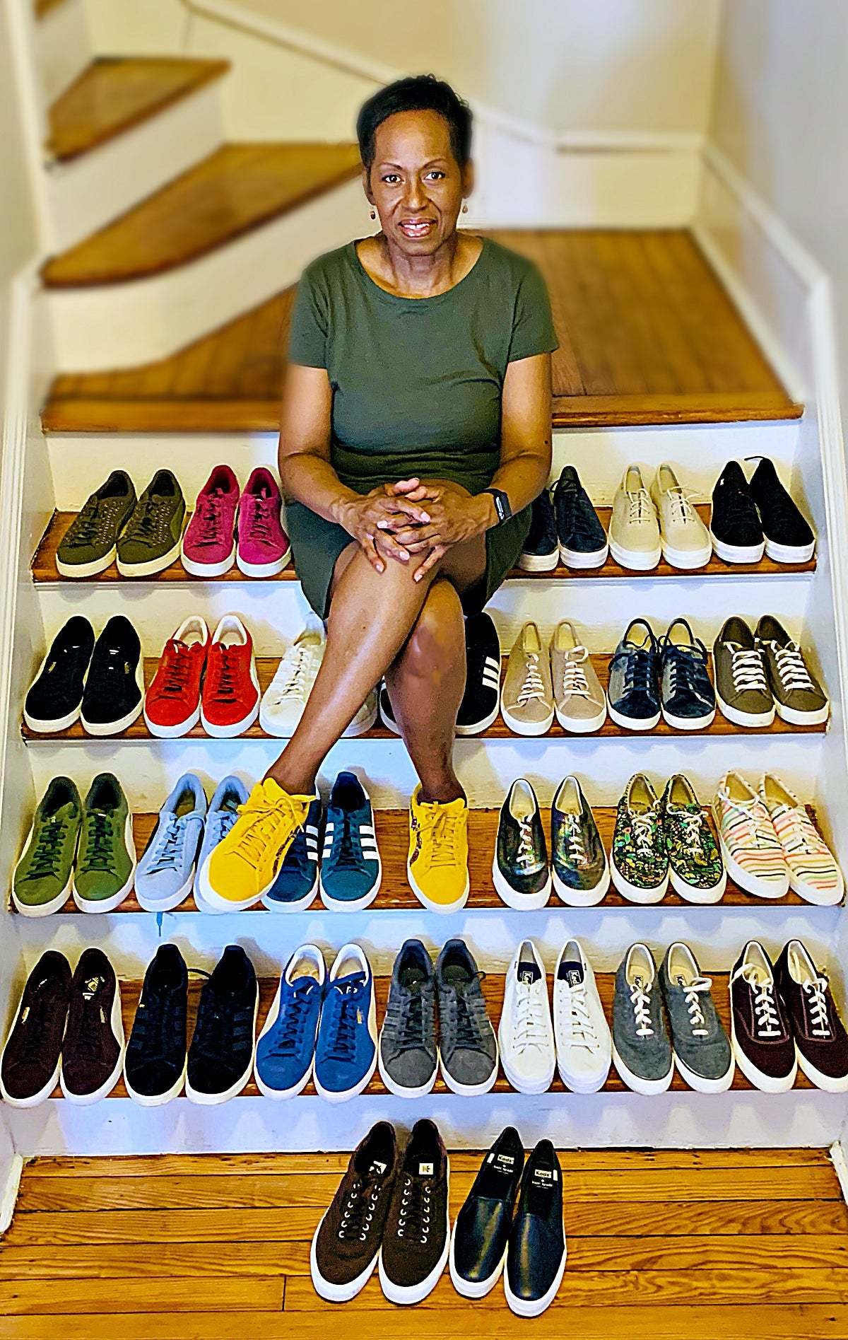 Juliet's Colorful Sneaker Collection
