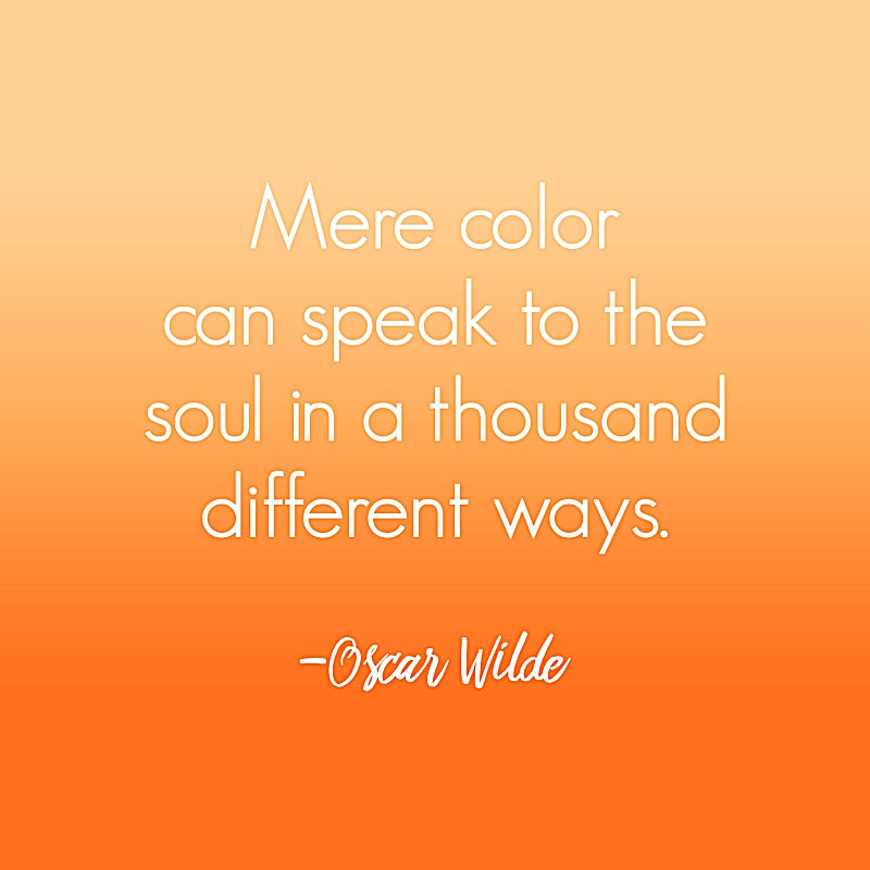 Oscar Wilde Color Quote