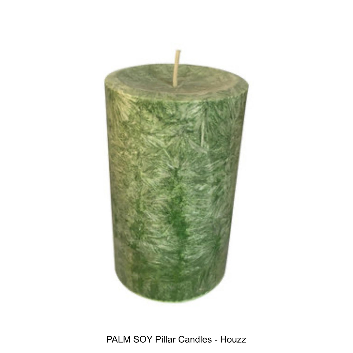 PALM SOY Pillar Candles - Houzz