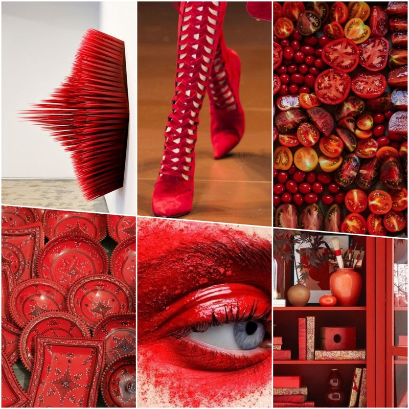 Red Hit Reds Mood Board