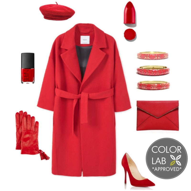 Red Hot Red Style Board
