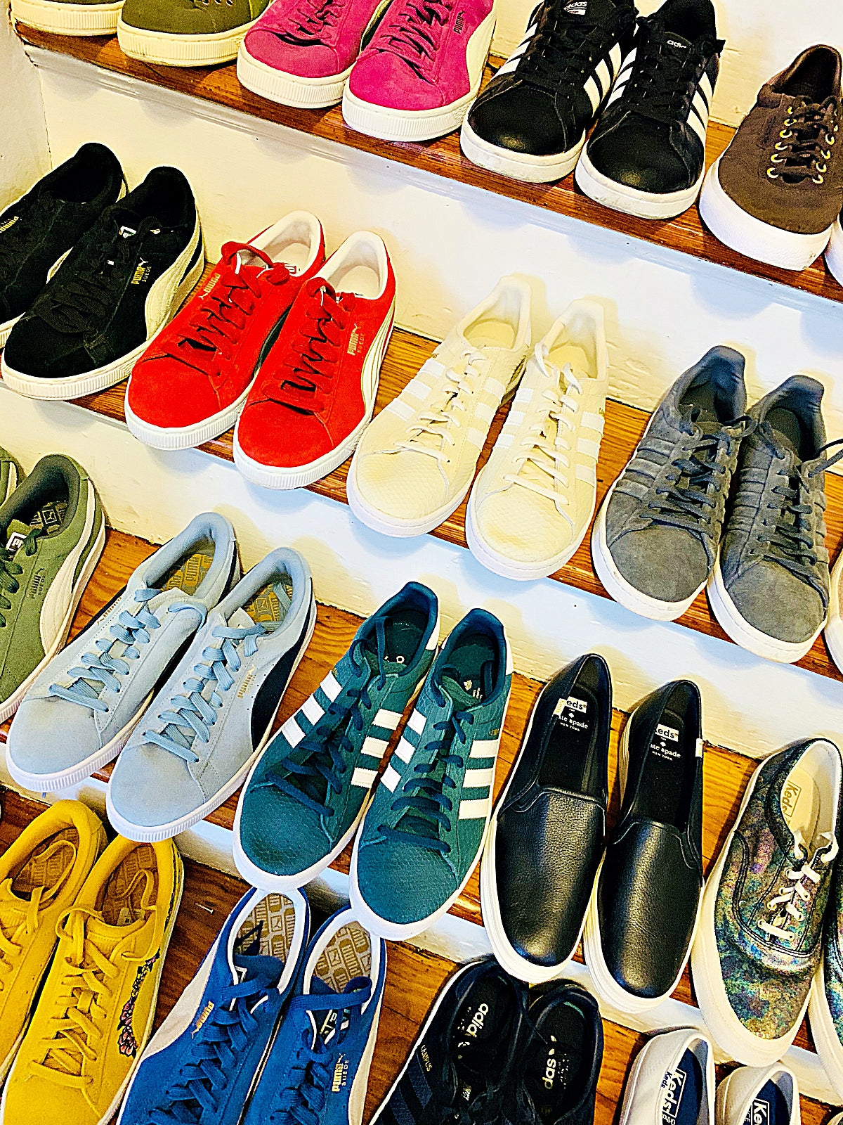 Juliet's Sneaker Collection