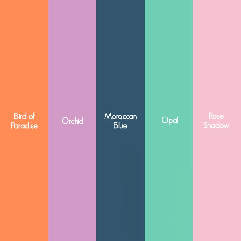 Spring/Summer 2019 Color Trends Palette