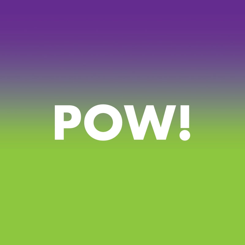 POW! Ultra Violet and Lime Punch