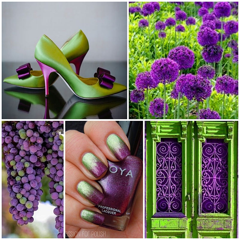 Color Craze: Ultra Violet and Lime Punch