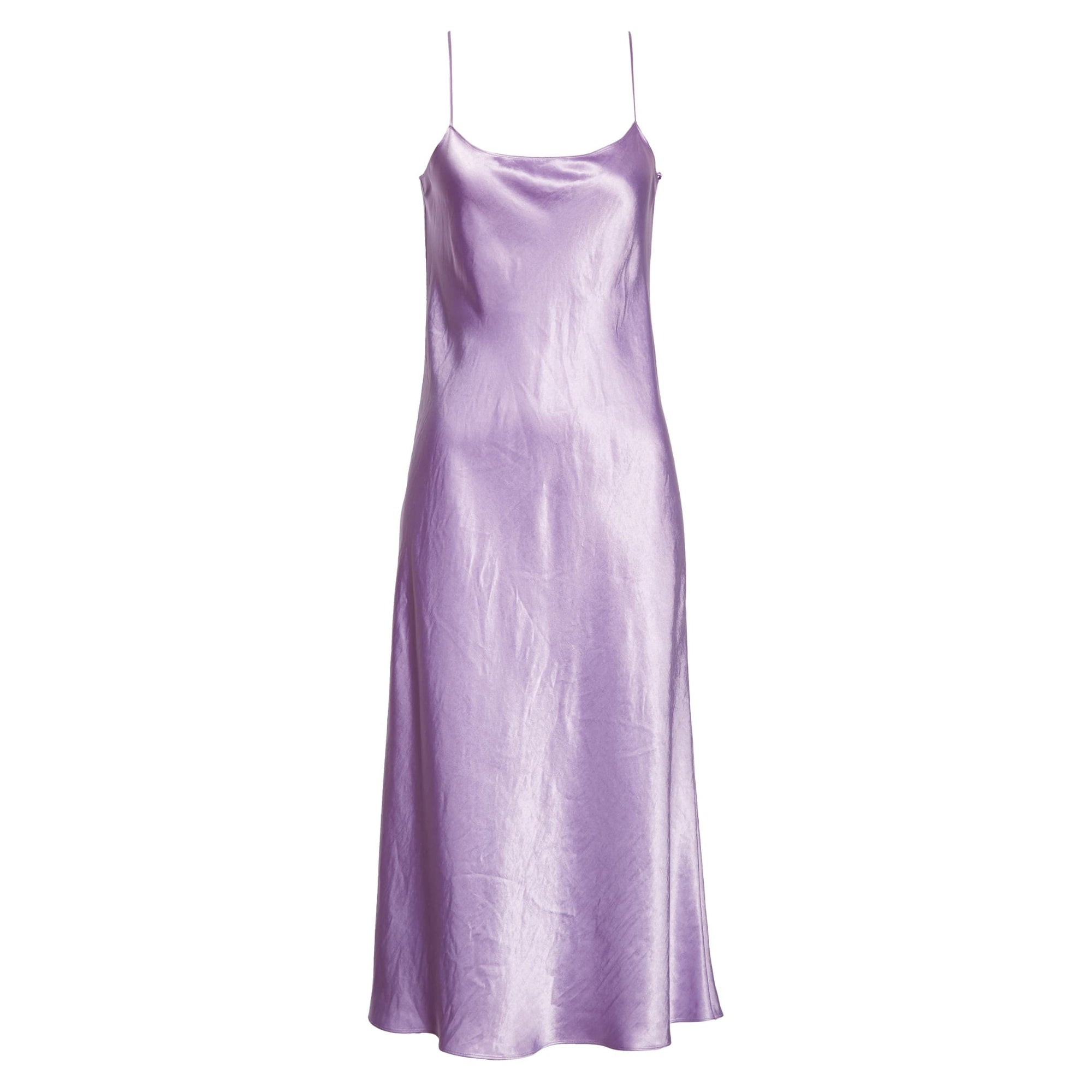 VINCE Satin Midi Slip Dress - Nordstrom