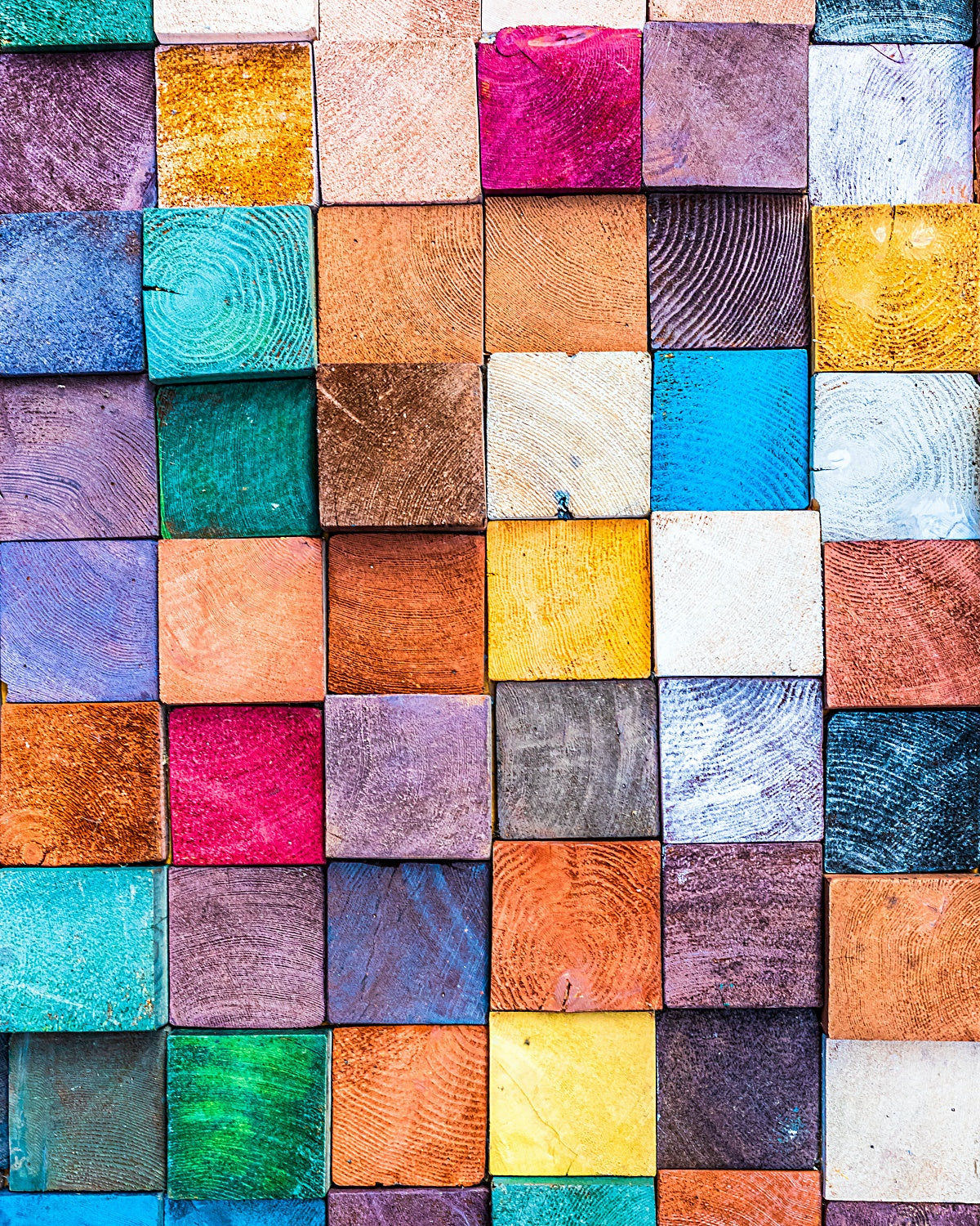 Colorful Wood Blocks