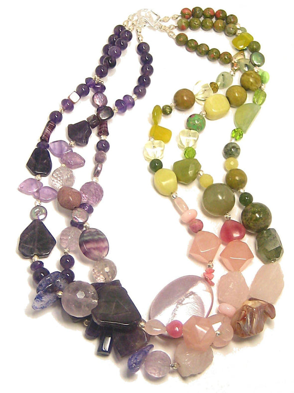 Spring Garden Necklace - JulRe Designs LLC