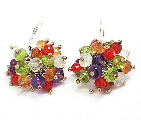 Carnivale Earrings - JulRe Designs LLC