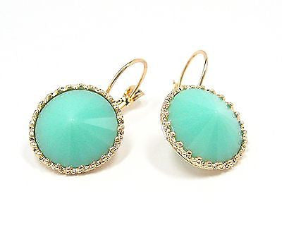 Erina Drop Earrings in Turquoise