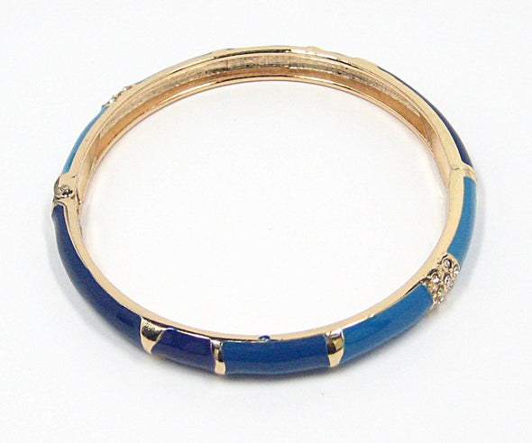 Briane Bracelet in Blue Ombre - JulRe Designs LLC