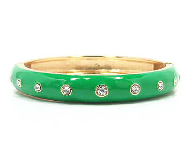 Chloe Bracelet in Bright Green - JulRe Designs LLC