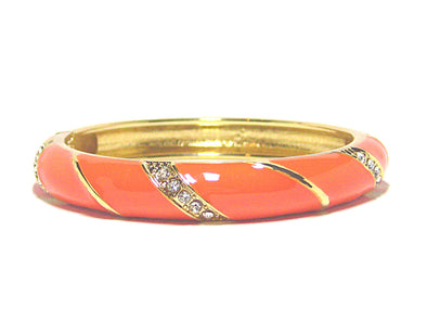 Danita Bracelet in Orange - JulRe Designs LLC