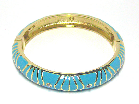 Sienna Bracelet in Peacock Blue - JulRe Designs LLC
