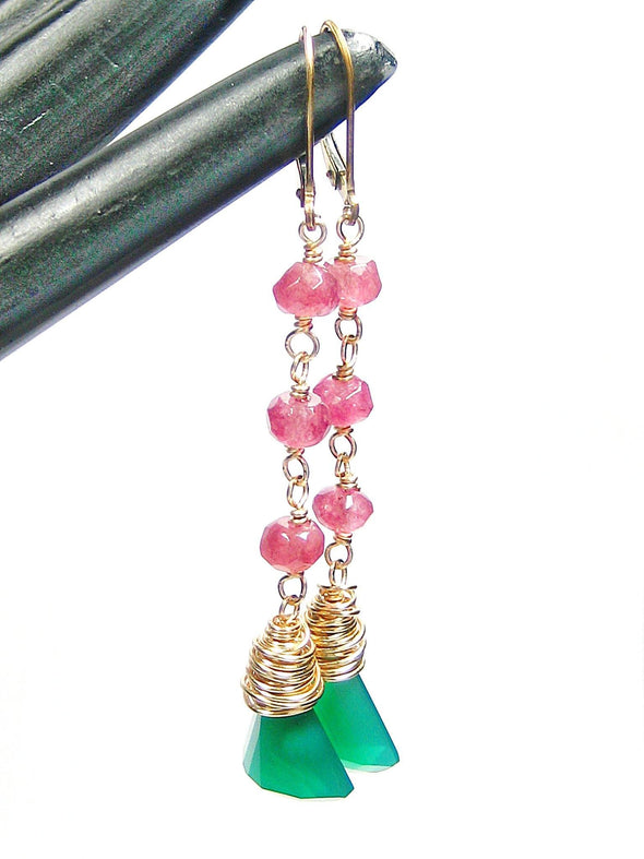 Brazilia Earrings - JulRe Designs LLC