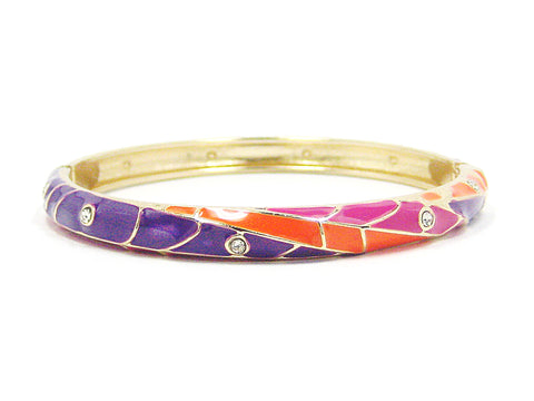 Willa Bracelet in Purple Multi