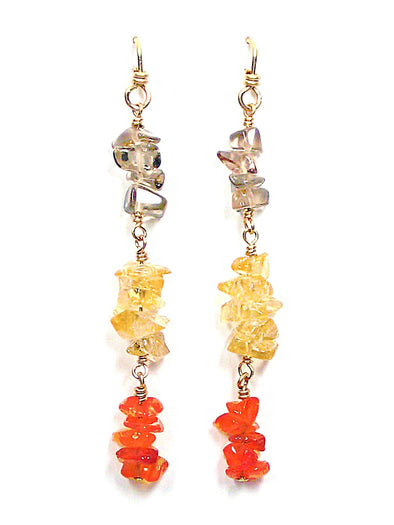 Serena Earrings - JulRe Designs LLC