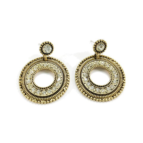 Davida Earrings in Gold