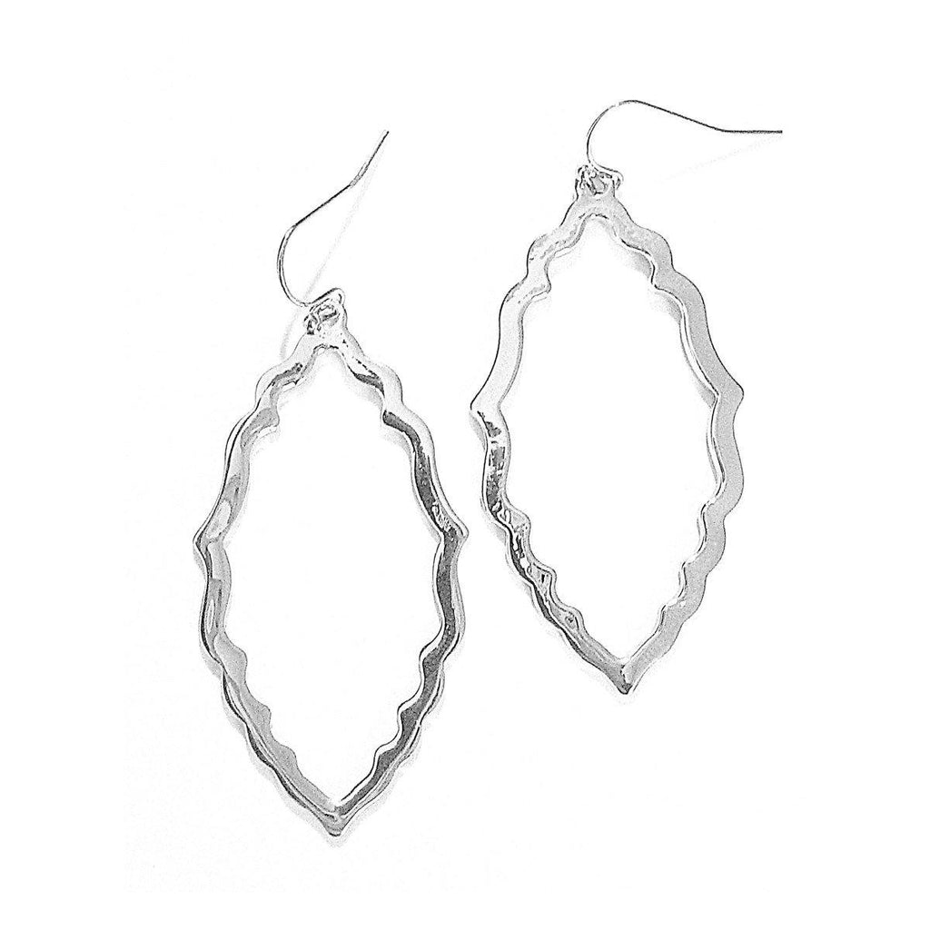 Eclectic Filagree Earrings in Silver