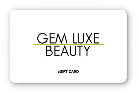 Gem Luxe Beauty eGift Card
