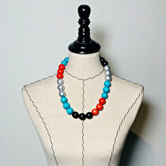 Gumball Necklace No. 1 in Multi 1