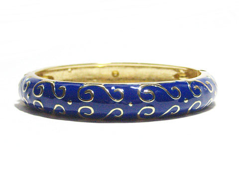 Lonette Bracelet in Navy Blue