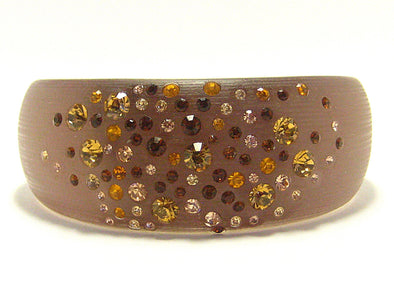 Ella Cuff Bracelet in Burnished Brown - JulRe Designs LLC