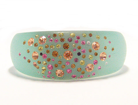 Ella Cuff Bracelet in Mint Green
