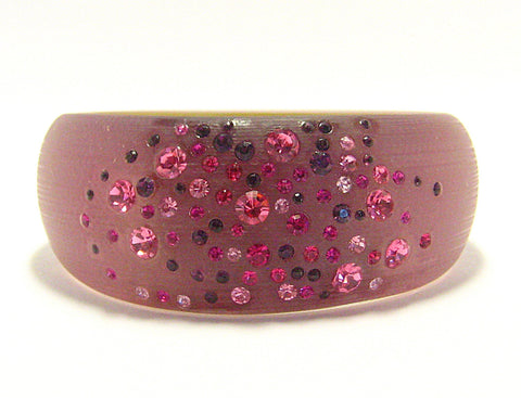 Ella Cuff Bracelet in Purple