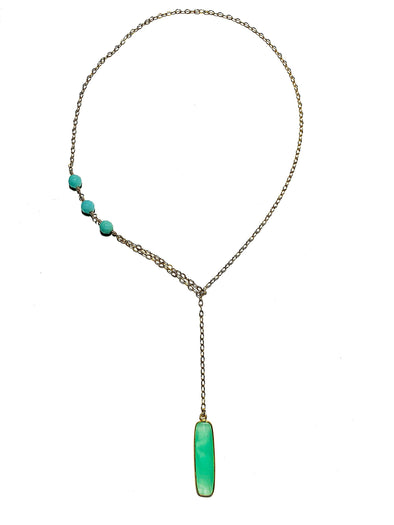 Modern Lariat Necklace No. 14