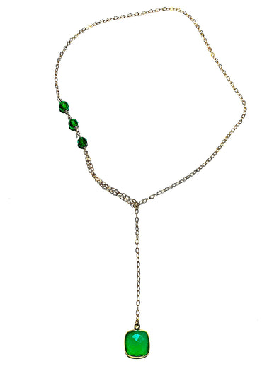 Modern Lariat Necklace No. 16 - JulRe Designs LLC
