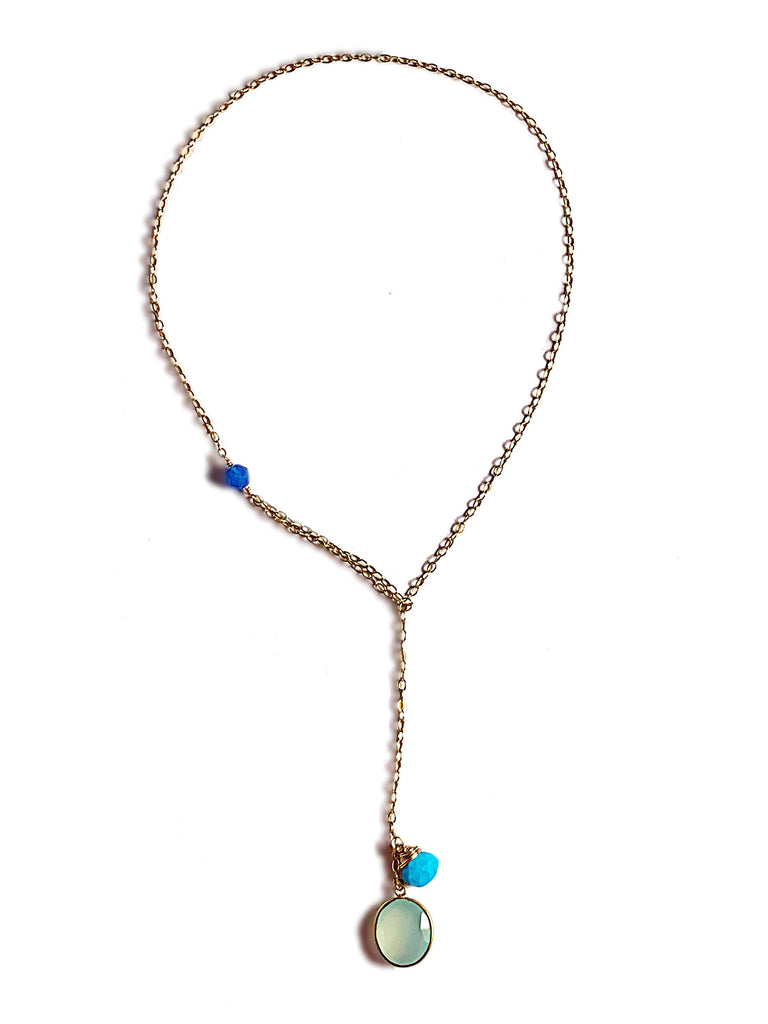 Modern Lariat Necklace No. 11