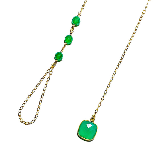 Modern Lariat Necklace No. 16