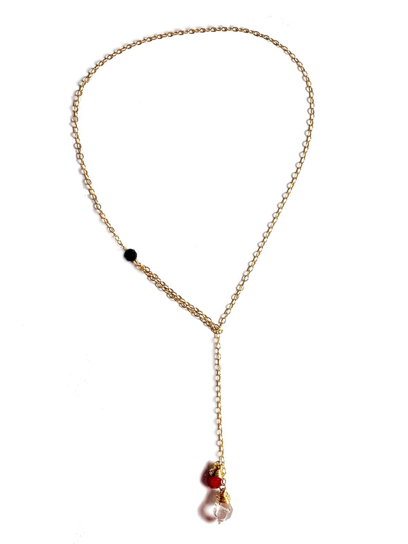 Modern Lariat Necklace No. 2 - JulRe Designs LLC