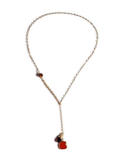 Modern Lariat Necklace No. 4
