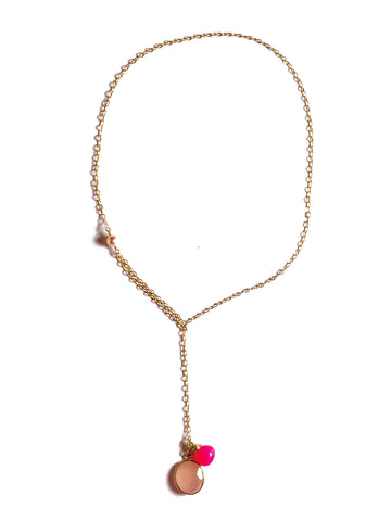 Modern Lariat Necklace No. 5