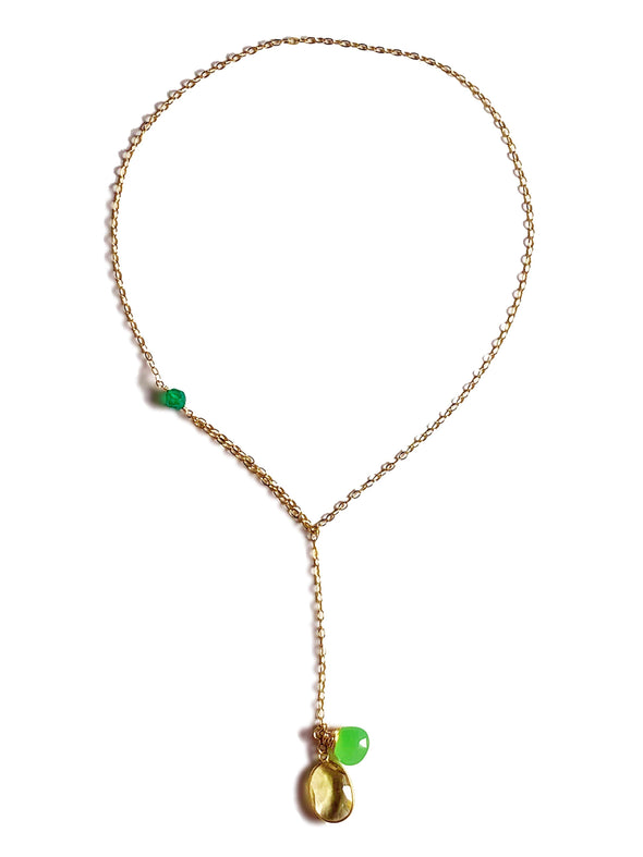 Modern Lariat Necklace No. 6