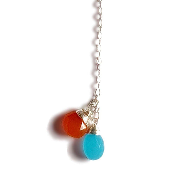 Modern Lariat Necklace No. 7