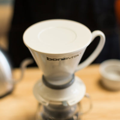 Bonavita Porcelain Immersion Dripper-Bodhi Leaf Coffee Traders