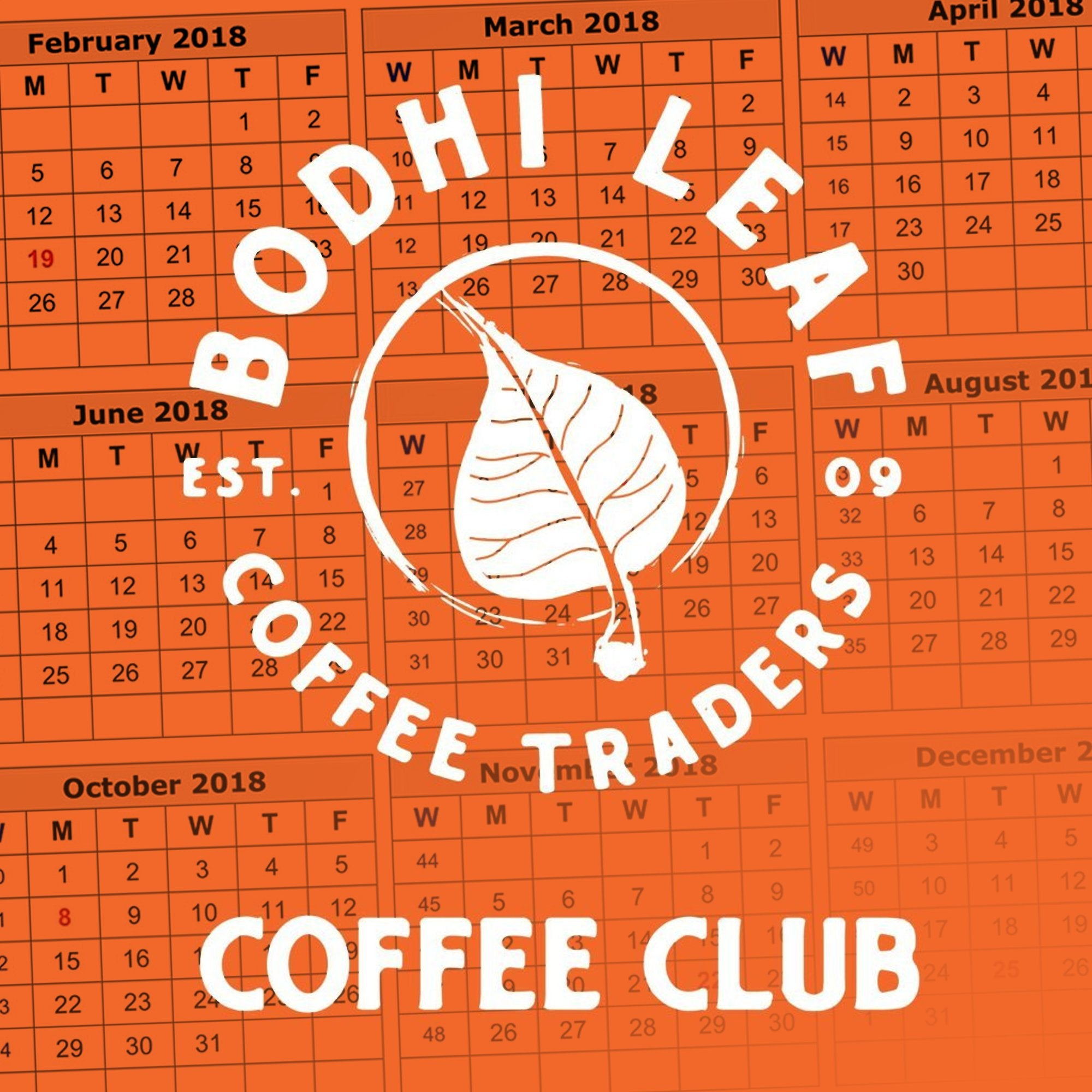 Bodhi Club 12 OZ Subscription-Bodhi Leaf Coffee Traders
