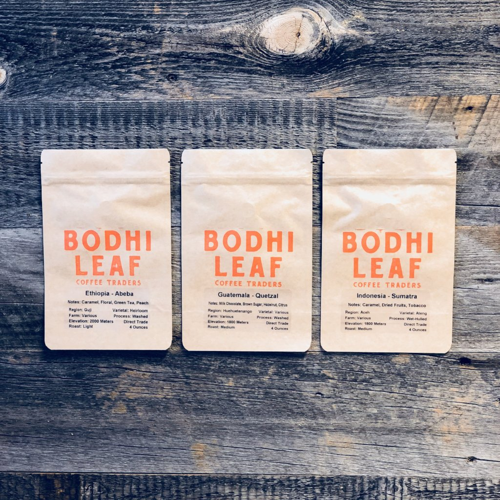Roasted - Steve's Favorites Sample Pack-Bodhi Leaf Coffee Traders