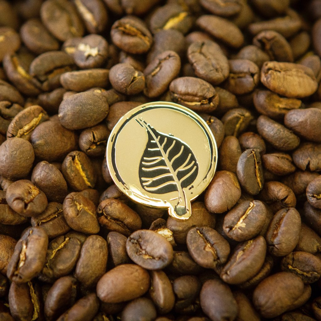 Bodhi Leaf Enamel Pin-Bodhi Leaf Coffee Traders