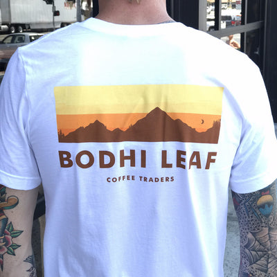 Bodhi Leaf Mountain T-Shirt-Bodhi Leaf Coffee Traders