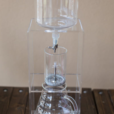 HARIO WATER DRIPPER (CLEAR) Bodhi Leaf Coffee Traders