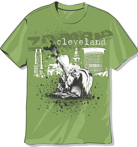 Cleveland Zombie T-shirt