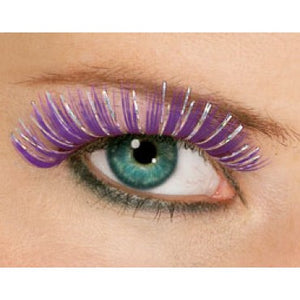 Hologram Purple Eyelashes