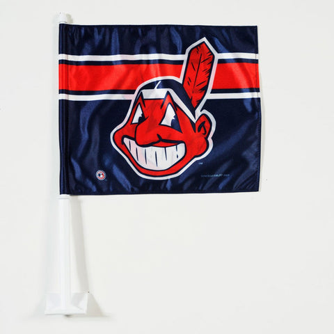 Cleveland Indians Car Flag